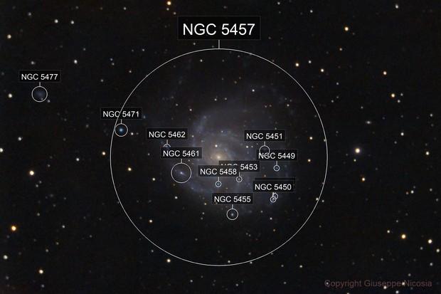 M101 galassia a spirale