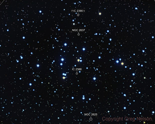 M44 The Beehive Cluster LRGB