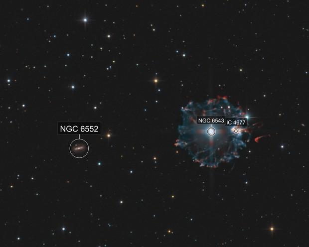 Cat's Eye Nebula: Halo - Rings - Core