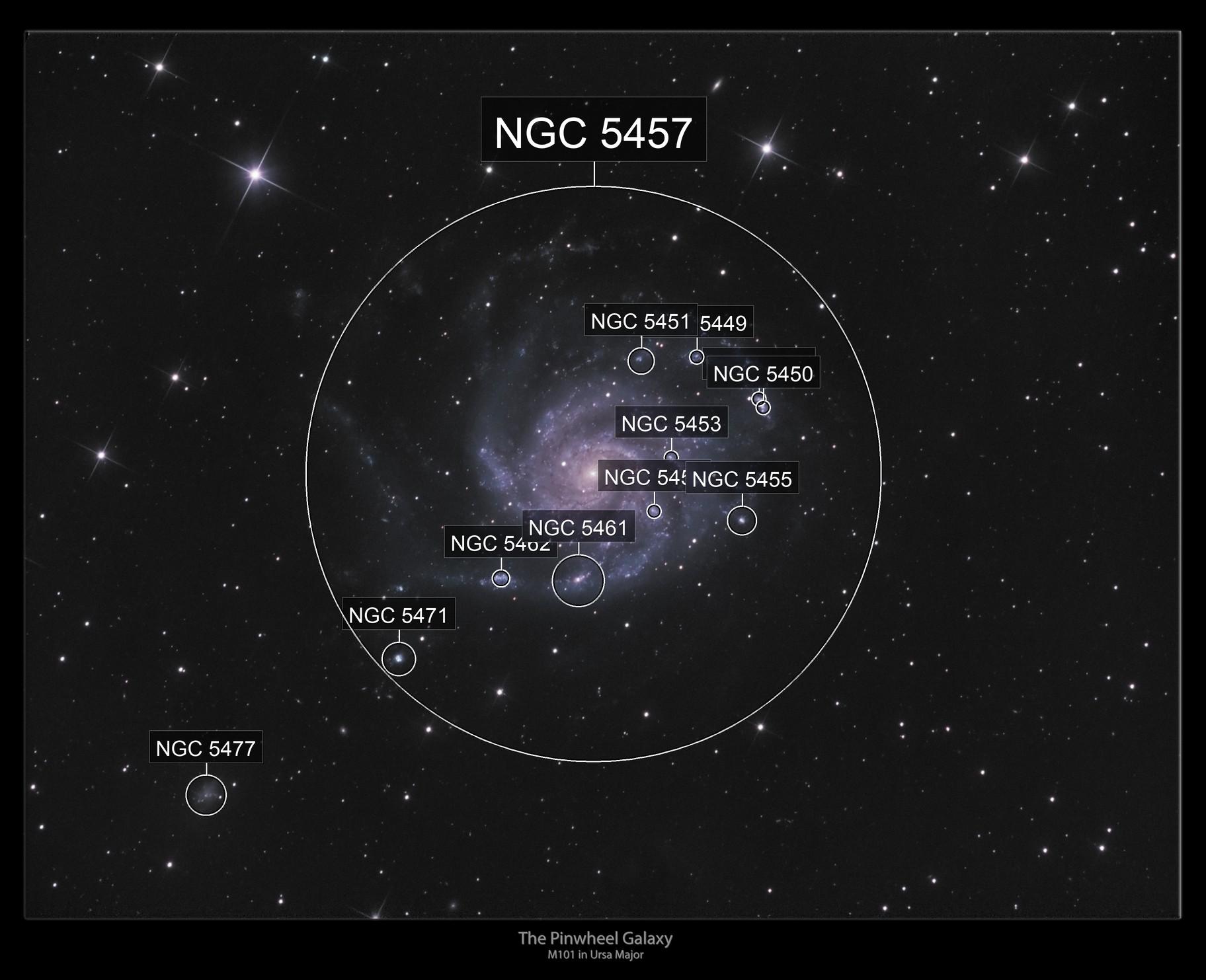 The Pinwheel Galaxy- M101