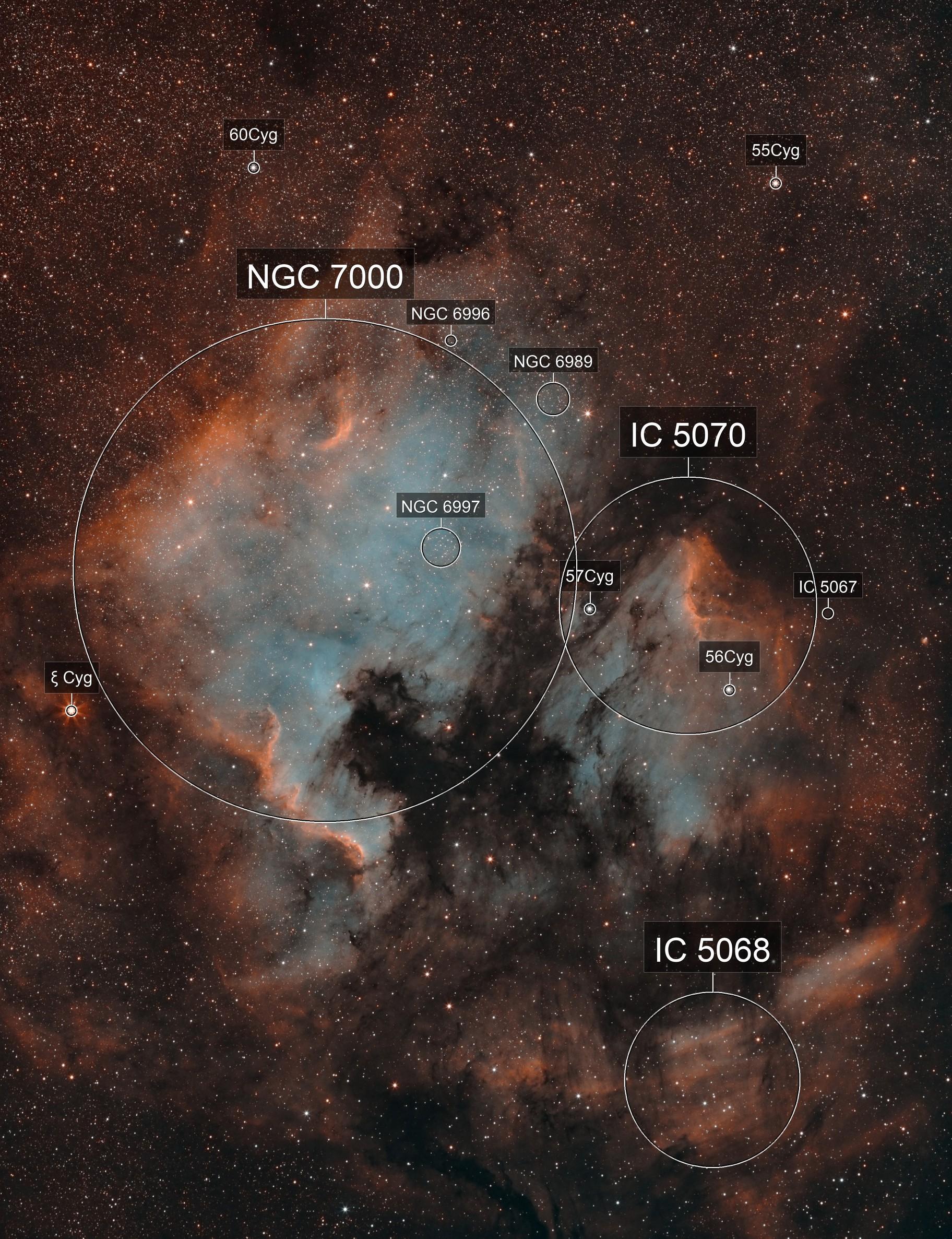 NGC7000 - IC5070