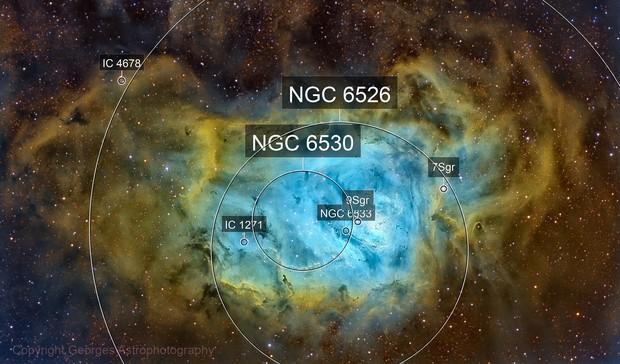Messier 8 in SHO