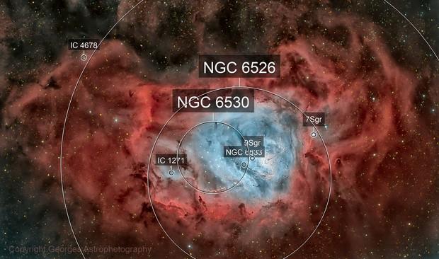Messier 8 en HOO