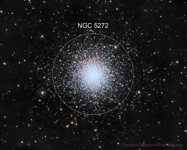 Amas Globulaire Messier 3
