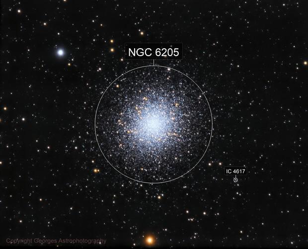 Amas Globulaire Messier 13