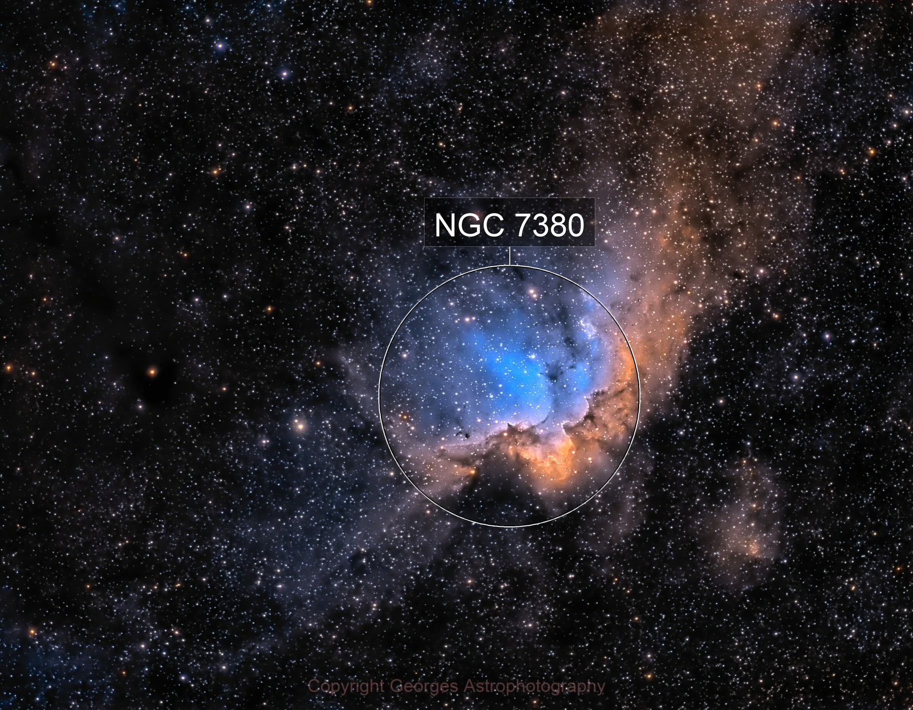 NGC7380 en SHO