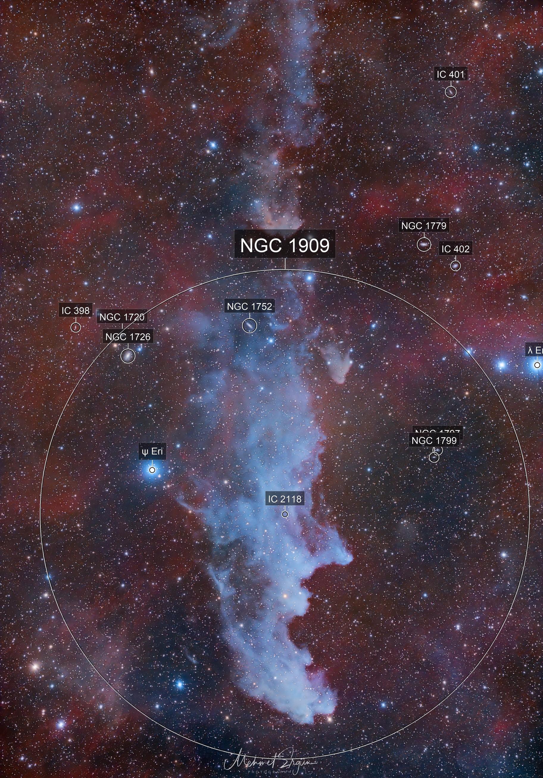 IC 2118 Witch Head Nebula