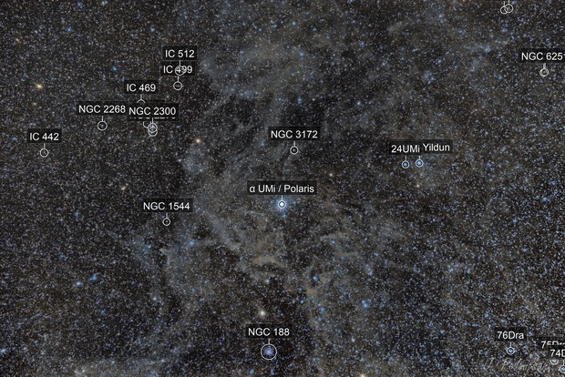 Polaris Nebula - wide field