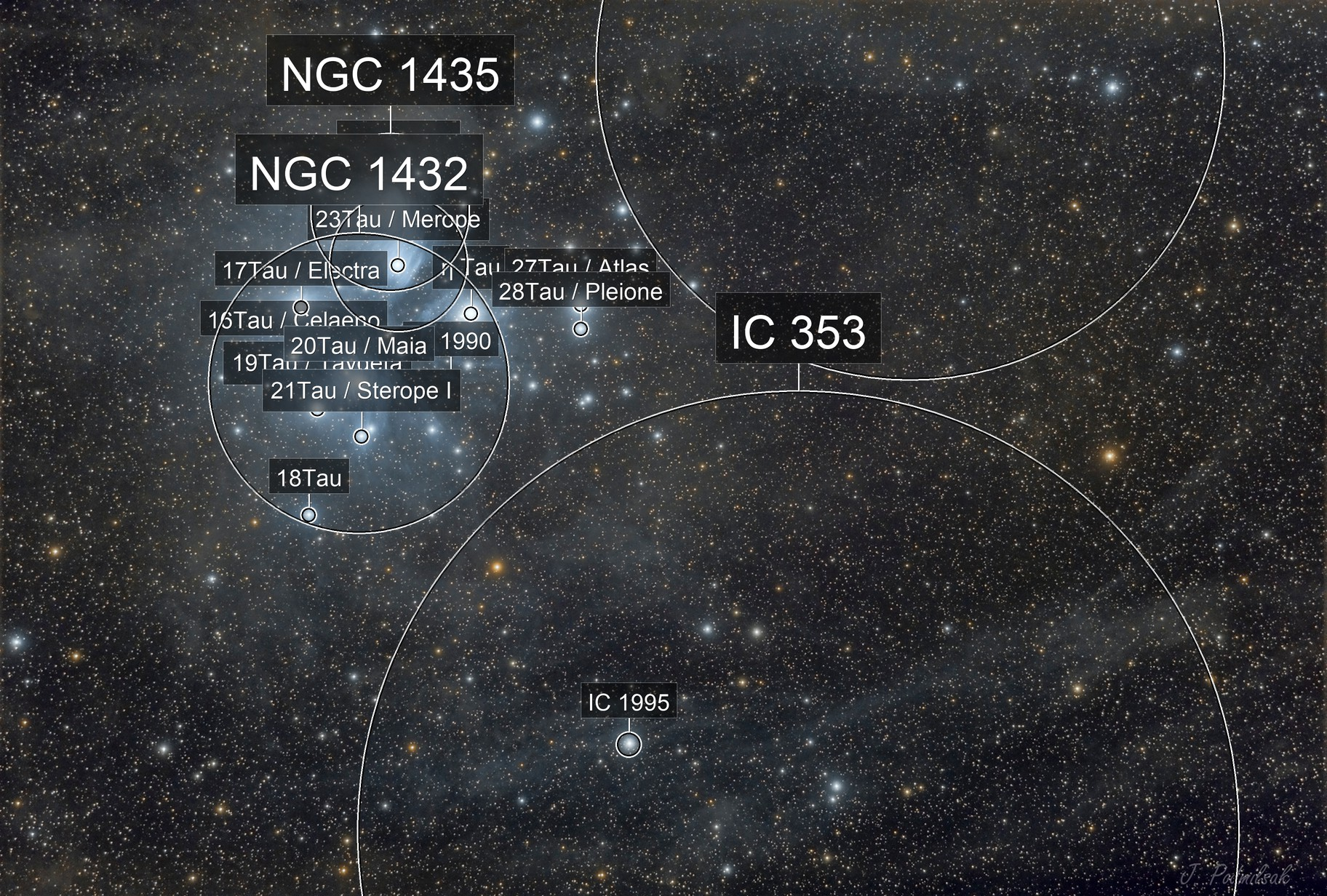 M45 dusty field