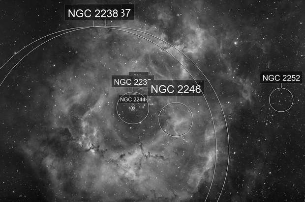 Rosette NGC2239 Ha