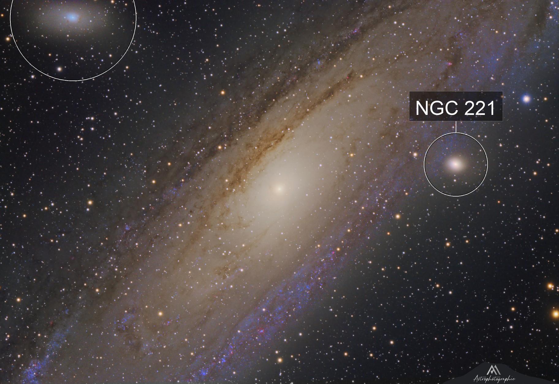 Au Coeur de la Galaxie d'Andromède
