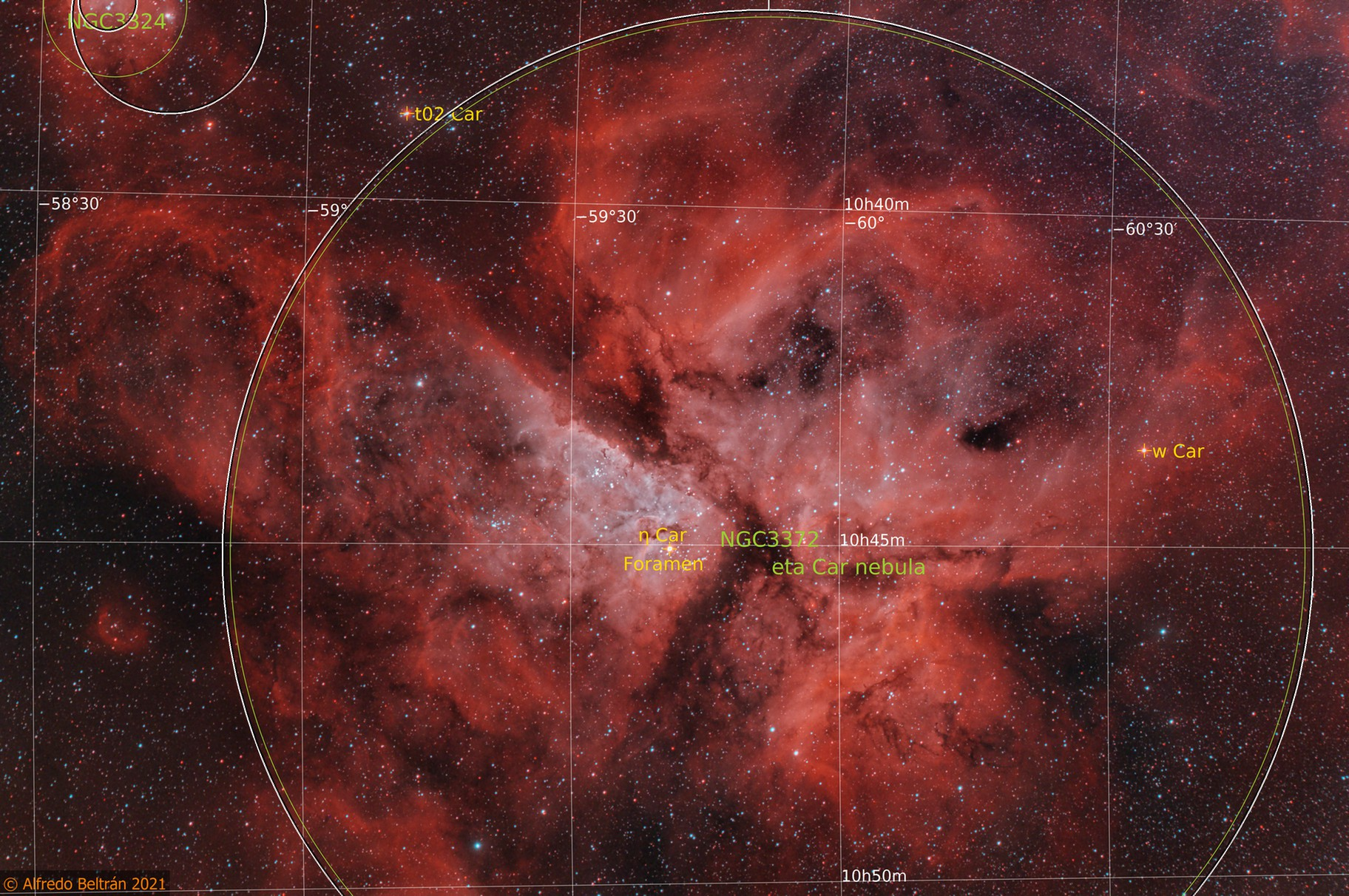 Eta Carinae - NGC 3372