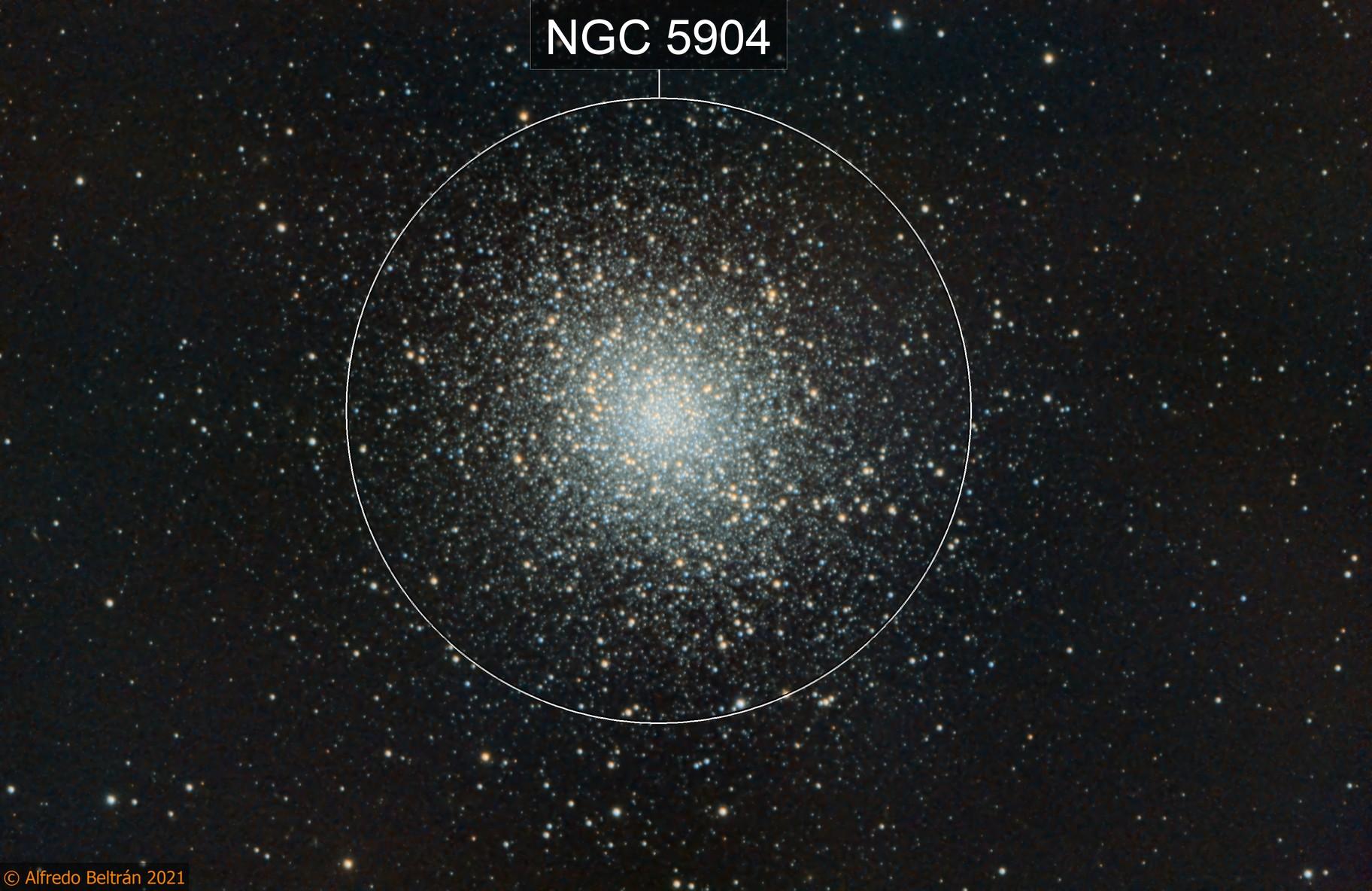Cúmulo globular Messier 5 - M5 (Globular Cluster M5)