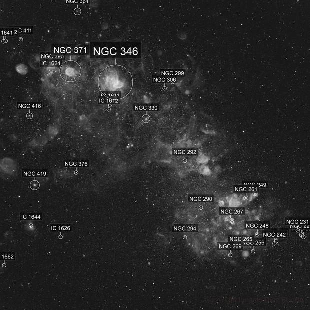 Small Magellanic Cloud in H-alpha