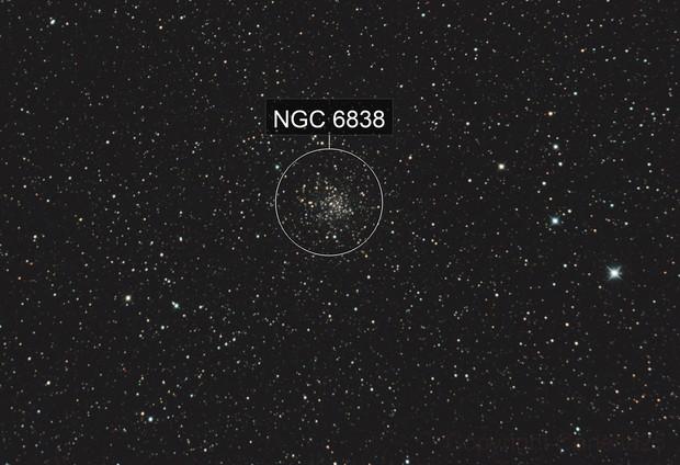 M 71 - NGC 6838