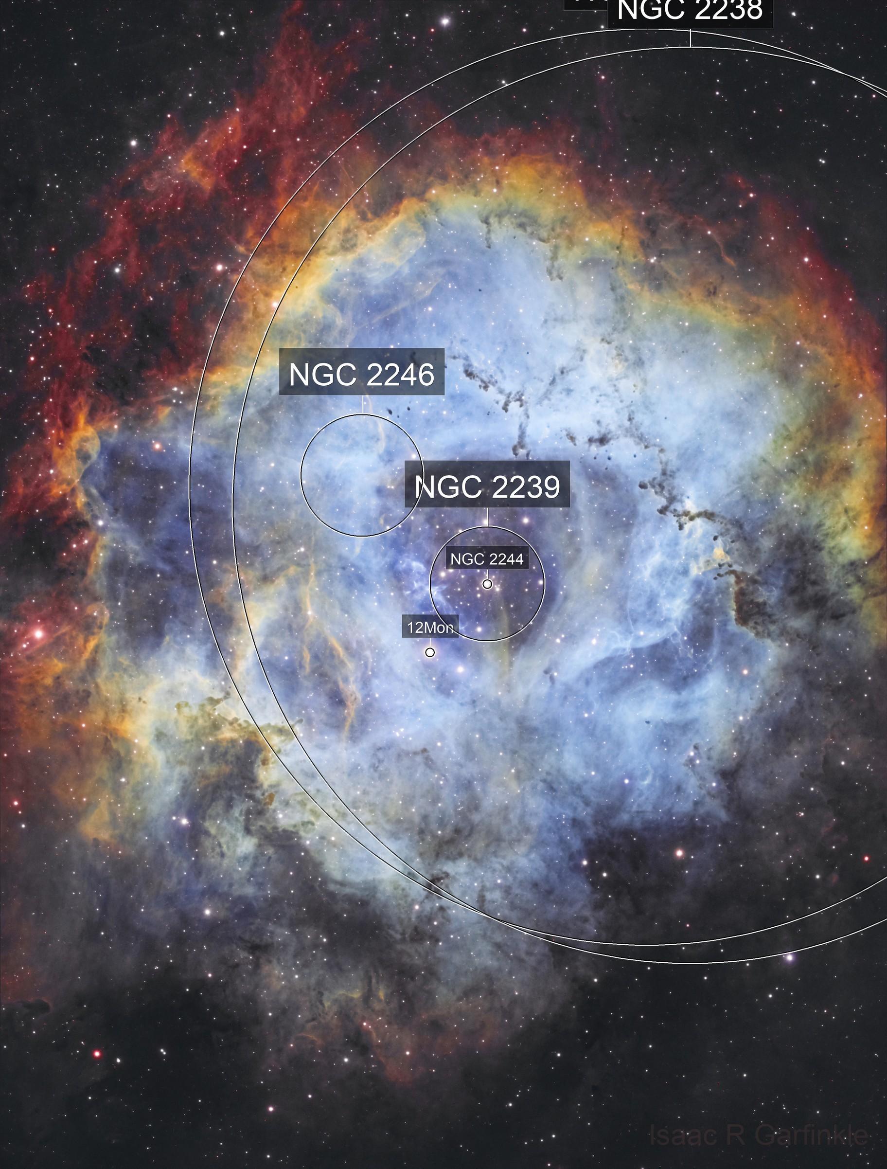 The Skull Nebula (Caldwell 49)