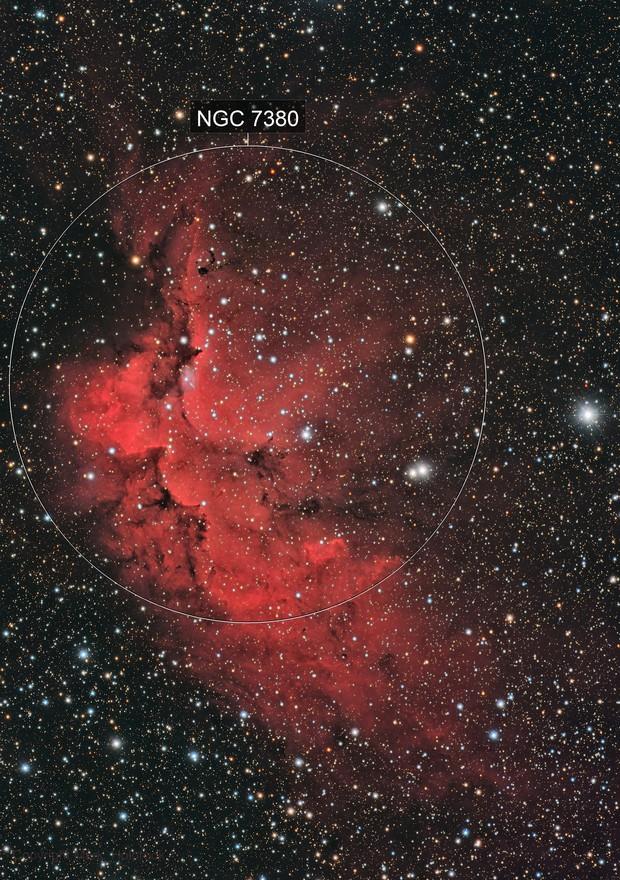 Wizard Nebula LRGB+Ha