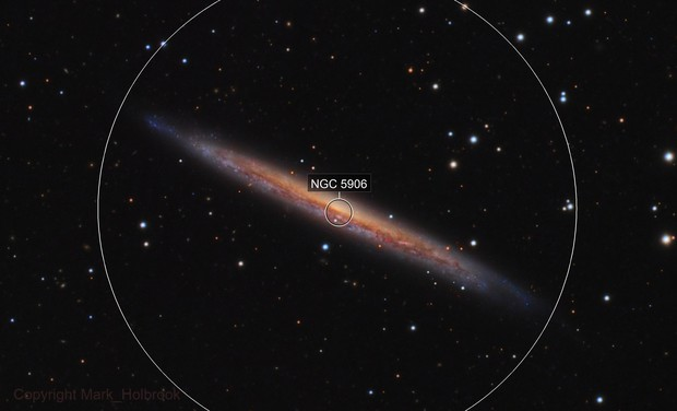 NGC5907 LRGB