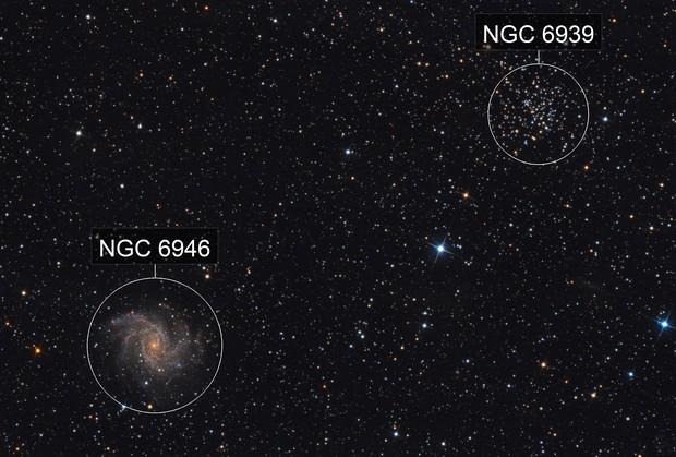 NGC 6946 FireworksGalaxy
