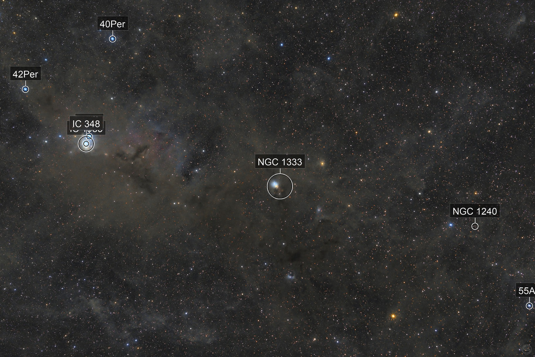 Molecular Cloud in Taurus