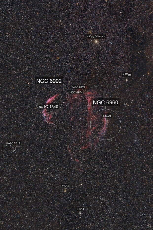 Veil Nebula Complex