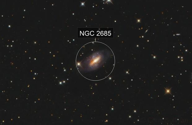 NGC 2685 Helix Galaxy (Arp 336)