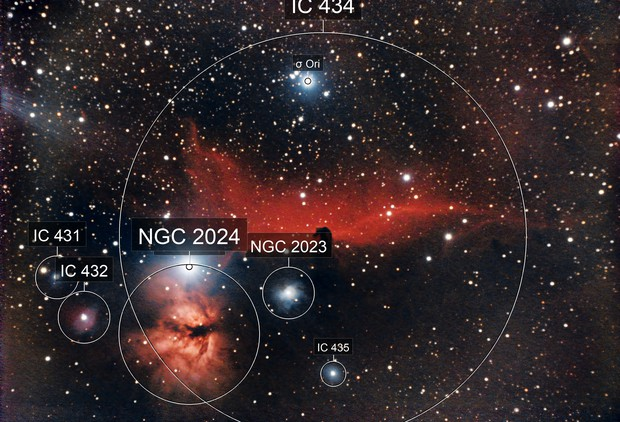 IC 434,  the Horsehead nebula