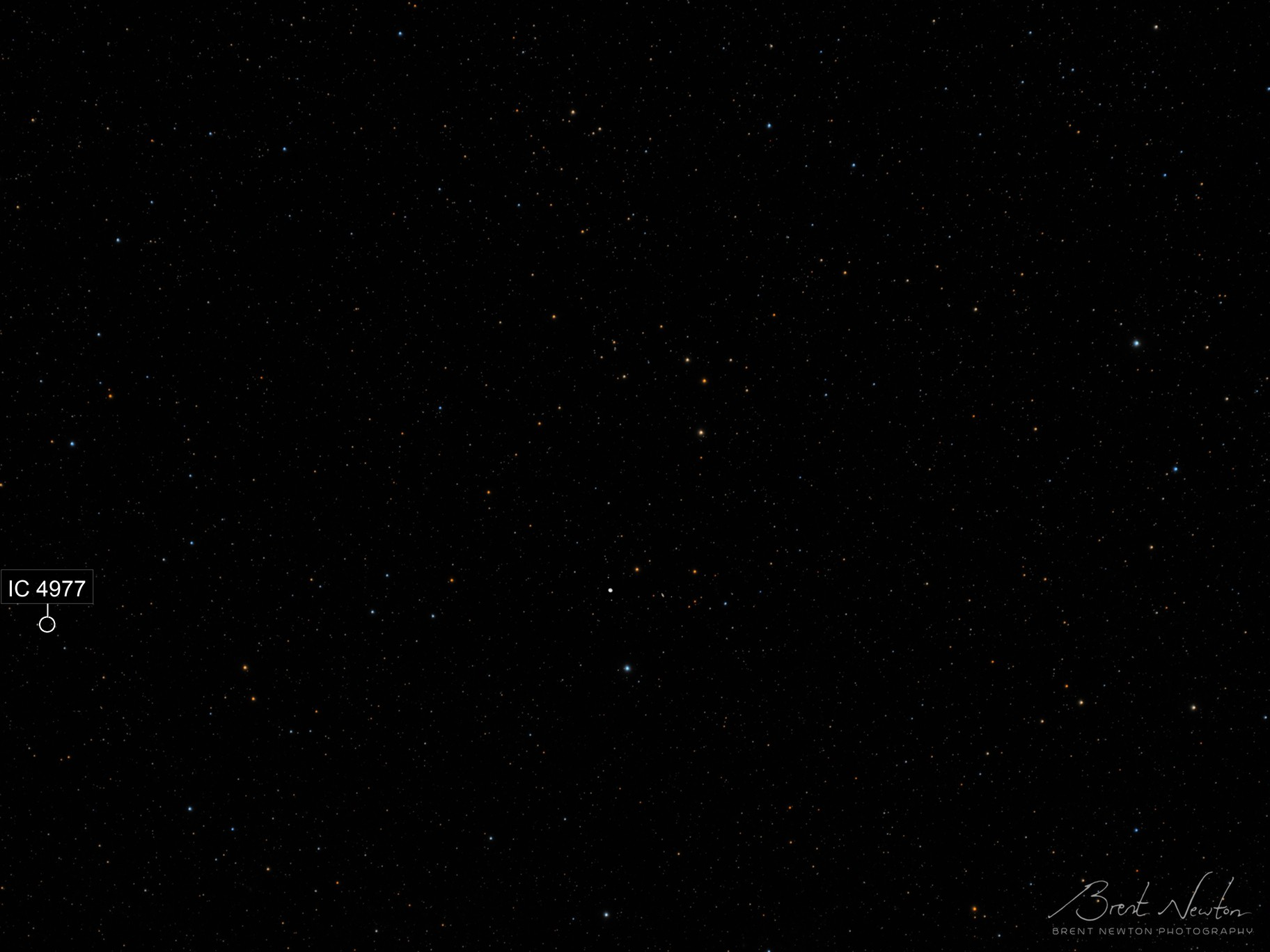 The Jupiter - Saturn Starfield