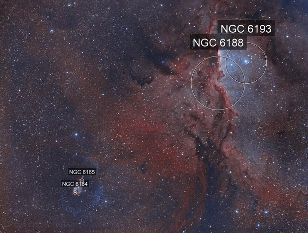 NGC 6188 & NGC 6164