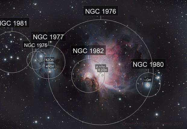M42-43 & NGC1977