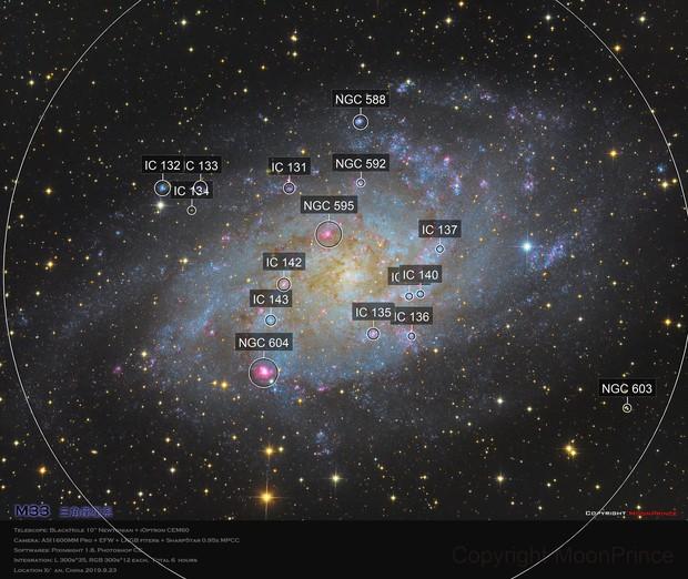 Messier 33 REBUILD ( M33,  Triangulum Galaxy )