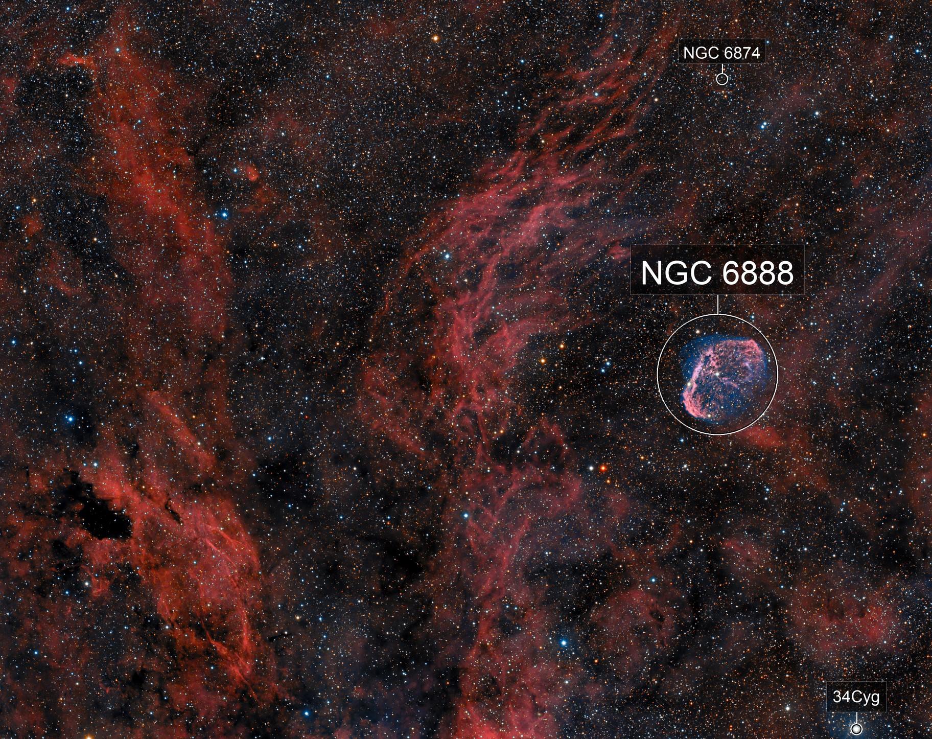 NGC6888 Le Croissant