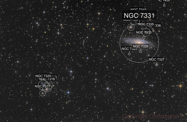 Stephan's Quintet + NGC7331