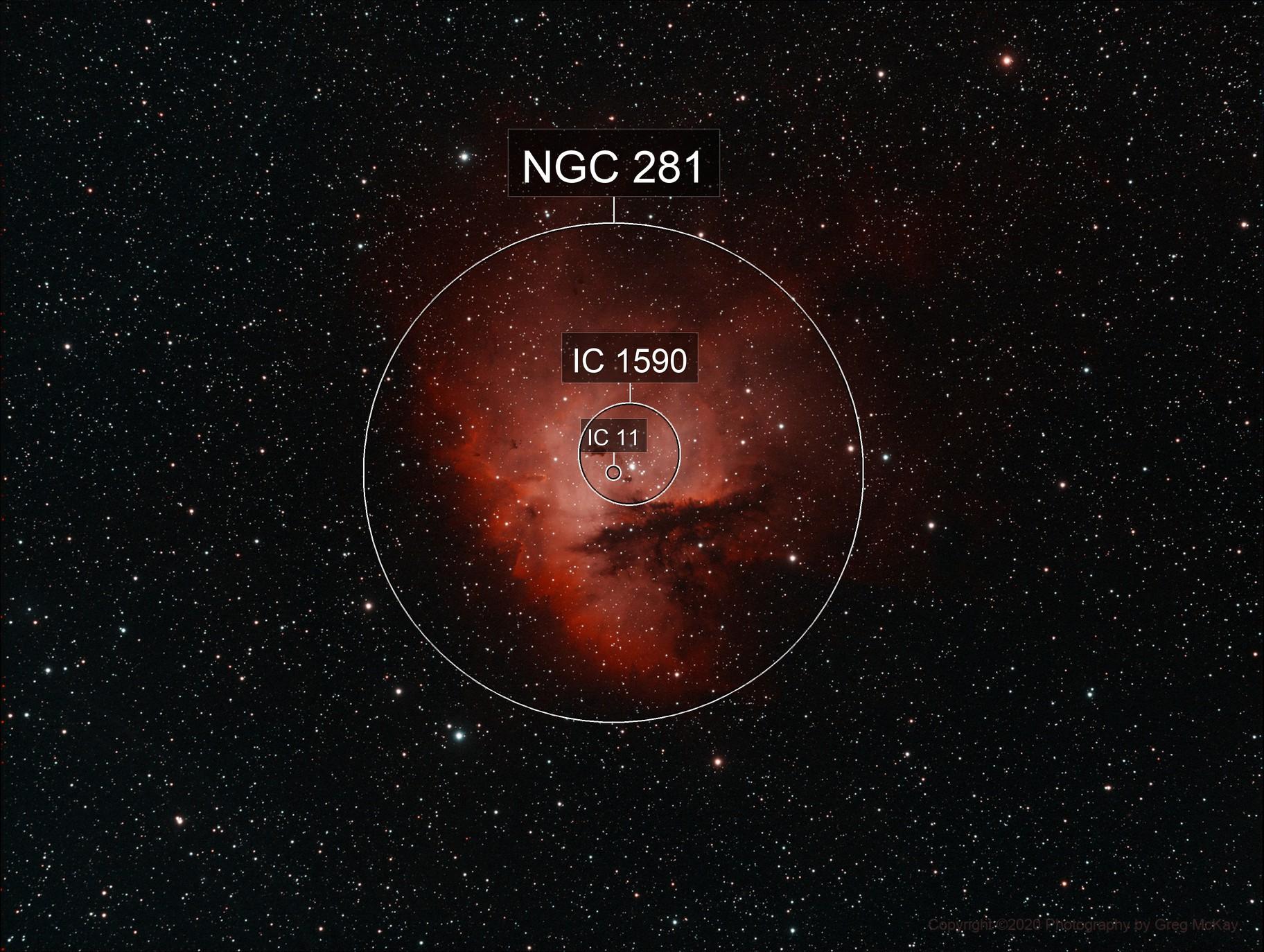 NGC 281 The Pacman Nebula