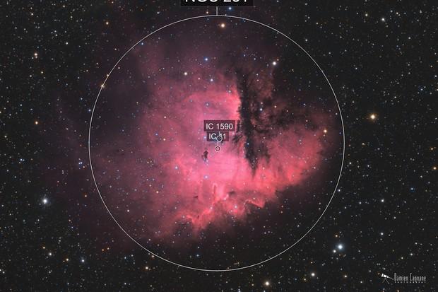 Pacman Nebula HaRGB