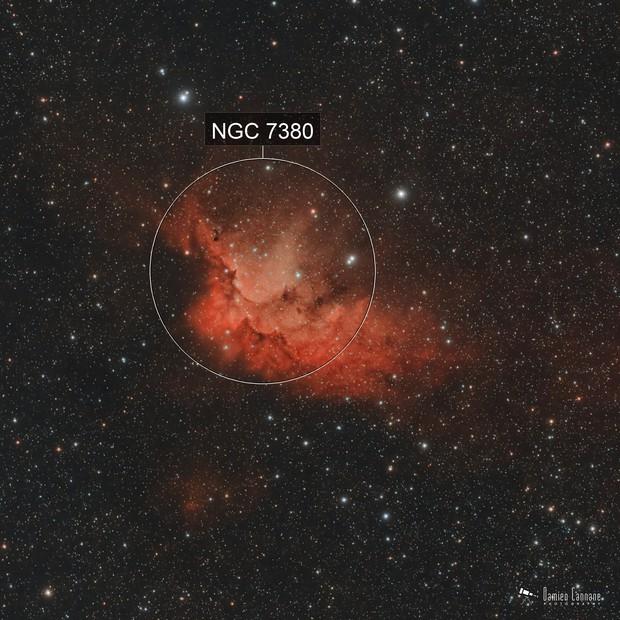 The Wizard Nebula - First Light ASI183MC Pro and L-eNhance Filter
