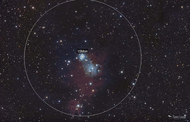 Christmas Tree Cluster / Cone Nebula (Broadband)