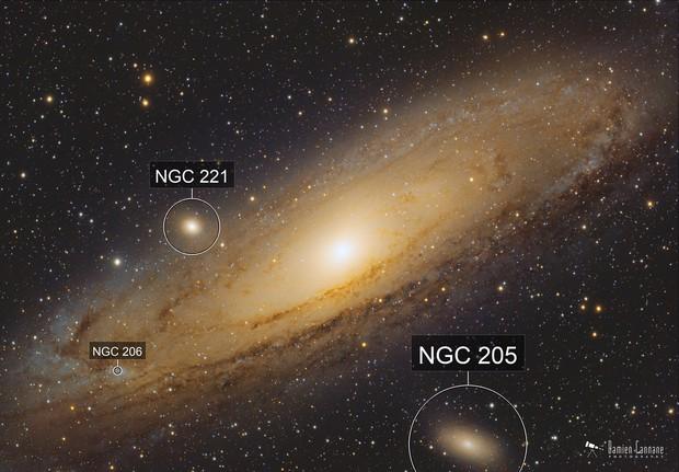 Andromeda Galaxy at the New Moon