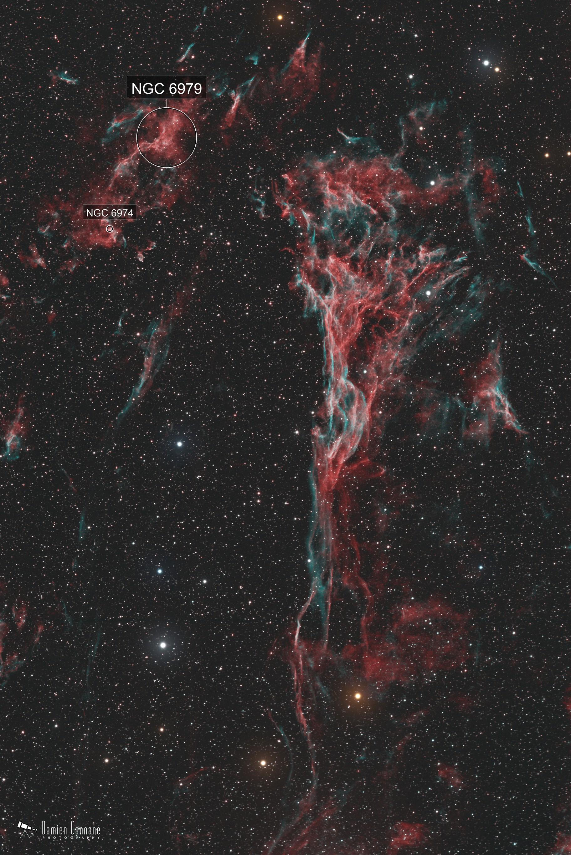 The Conch Shell Nebula aka Pickering's Triangle