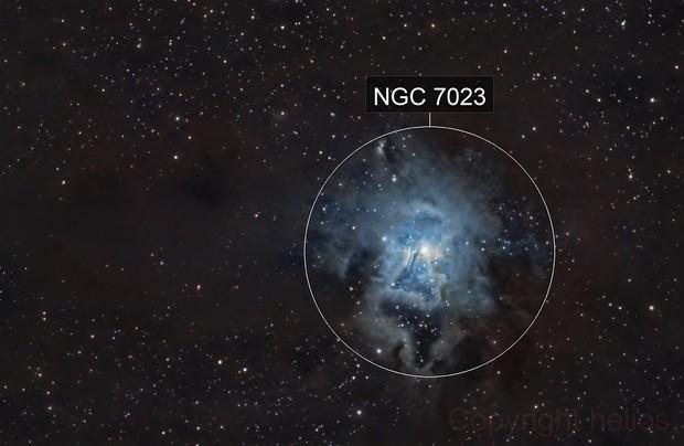 ngc7023, Iris Nebula