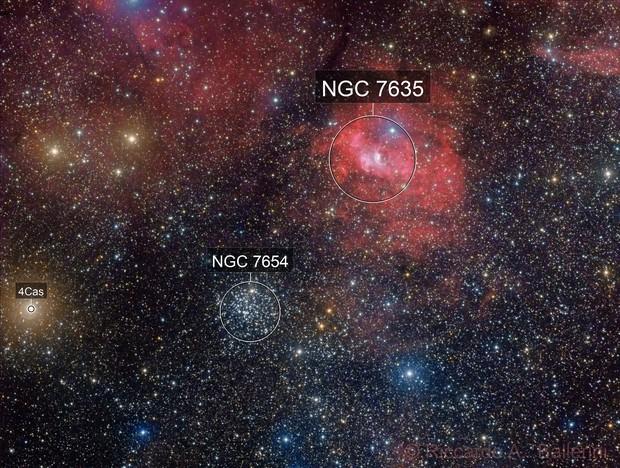 Bubble Nebula Complex - Sh2-162