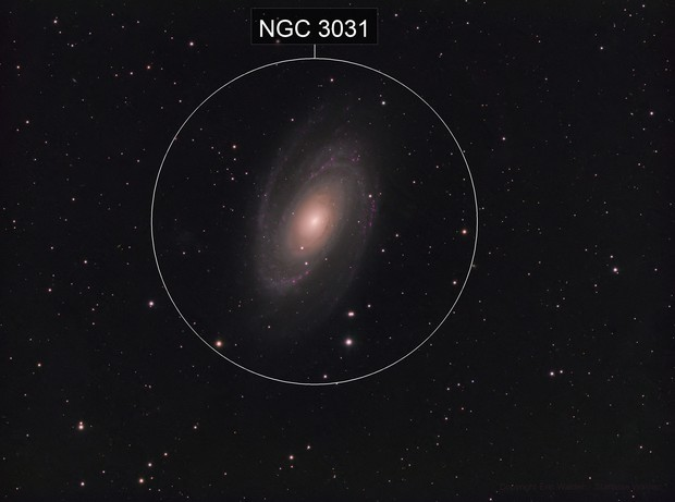 M81 - Bode's Galaxy - LRGB-HA
