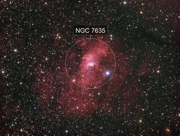 Bubble Nebula - LRGB
