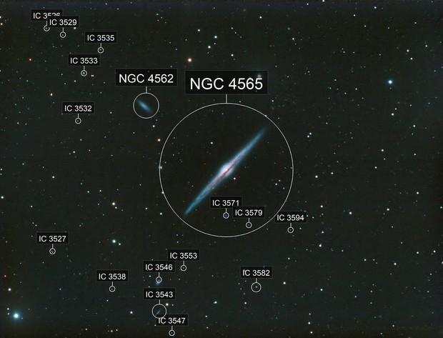 NGC4565 - Needle Galaxy