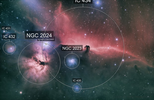 Horsehead Nebula - QHY600 - Esprit 150 - LRGB-Ha