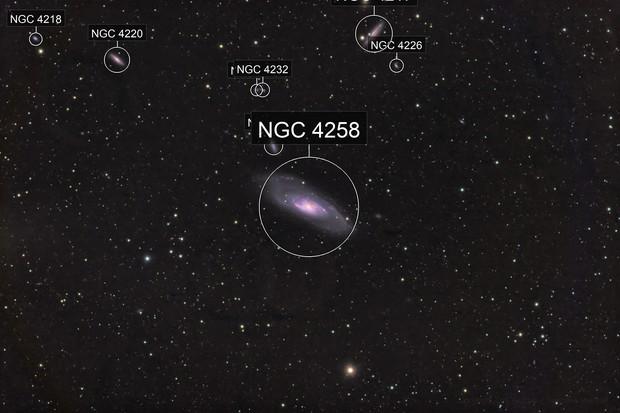 Messier 106 - QHY600 - Esprit 150 - LRGB Ha