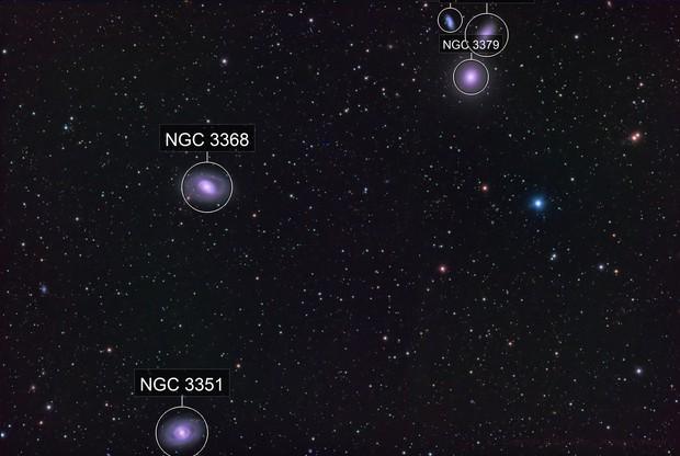 Messier 105 and Friends - QHY600 - Esprit 150 - LRGB