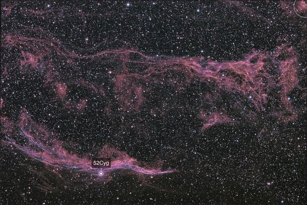 Eastern Veil and Pickerings Triangle - QHY600 - Esprit 150 - LHaRGB
