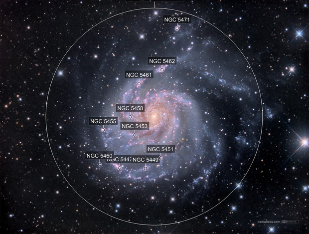 Pinwheel Galaxy (M101) in HaLRGB