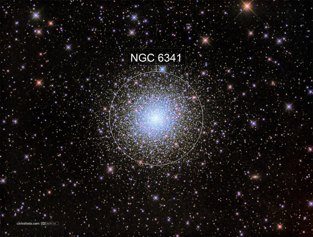 Messier 92 in HaLRGB